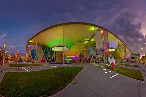 大東文化藝術中心(夜景)